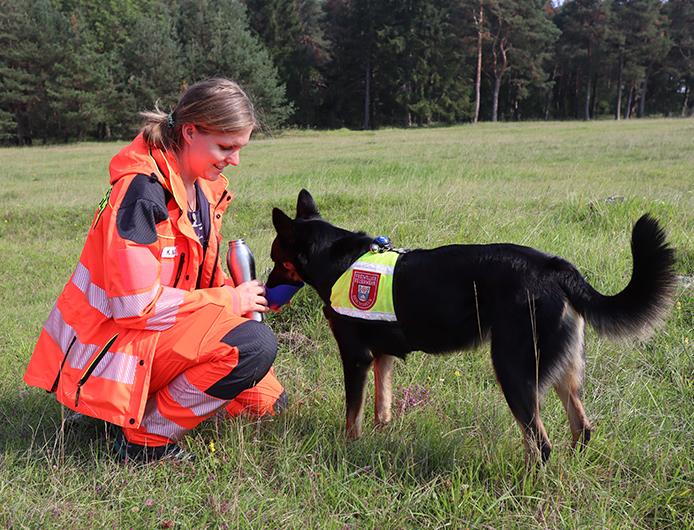 Kathrin Moser und Ruffy