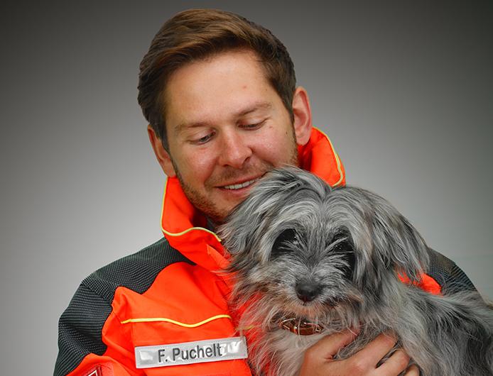 Fabian Puchelt und Paula