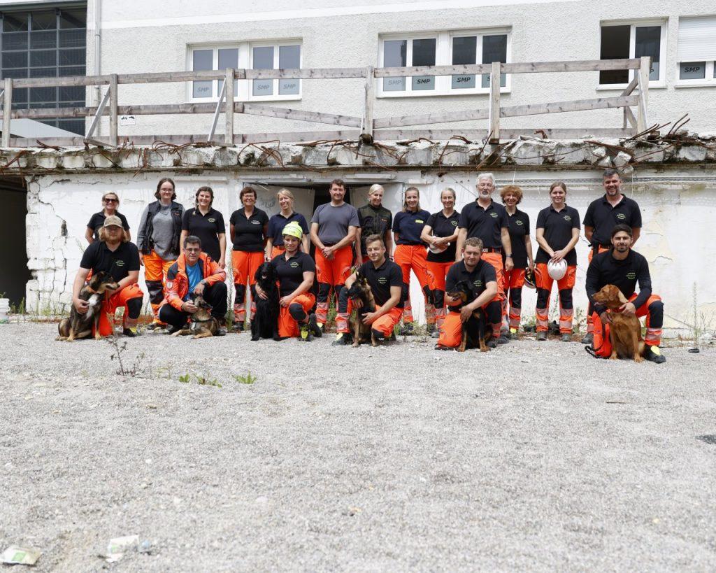 1. gemeinsames Training nach dem Lockdown